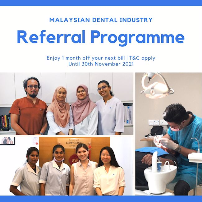 Referral Programme Announcement for Malaysian Dental Industry