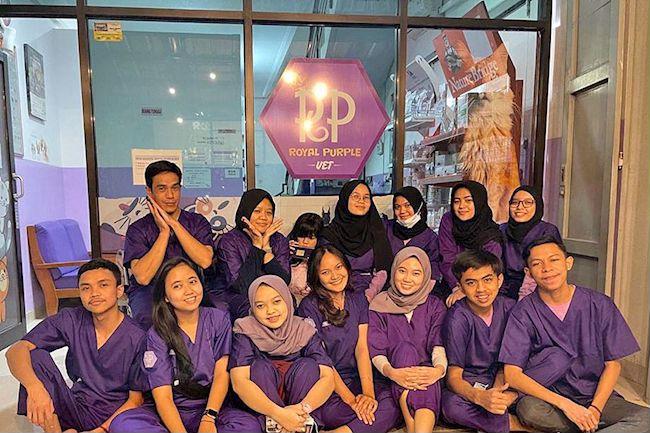 Royal Purple Vet in Bandung, West Java